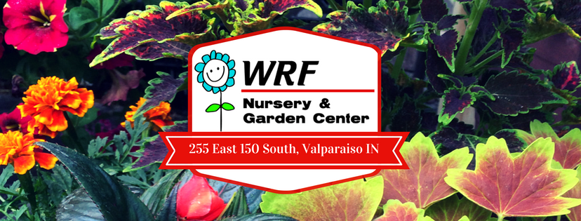 WRF Logo on Floral Background
